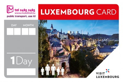 Luxembourg Card 1 Day - 5 People © LFT