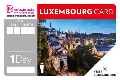 Luxembourg Card 1 Day - 1 Person © LFT